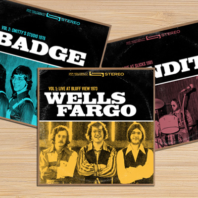 Badge Archives<br><h4>CD Packaging</h4>