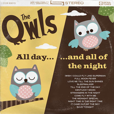 The Owls<br>Album Covers<br><h4>Custom Wall Art</h4>
