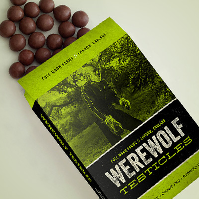 Werewolf Snacks<br><h4>Packaging</h4>