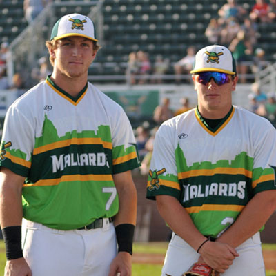 Madison Mallards<br>Baseball Club<br><h4>Clothing Design</h4>